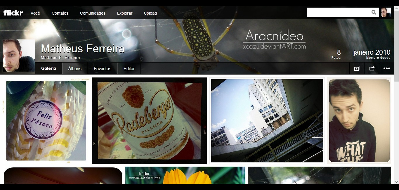 Flickr  Sua galeria