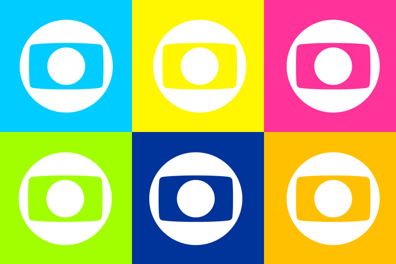 Seria a nova identidade da Rede Globo parecida com isso? Parece que sim.