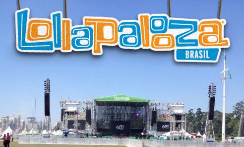 Geo Eventos não irá mais realizar o festival Lollapalooza