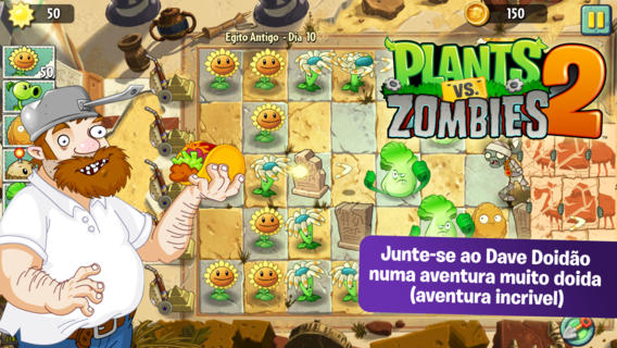Plants Vs Zombies 2 é finalmente lançado, mas só pra usuários de iOS por enquanto