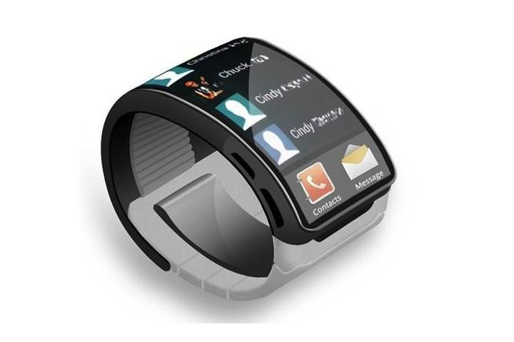 Mockup conceito do Galaxy Gear