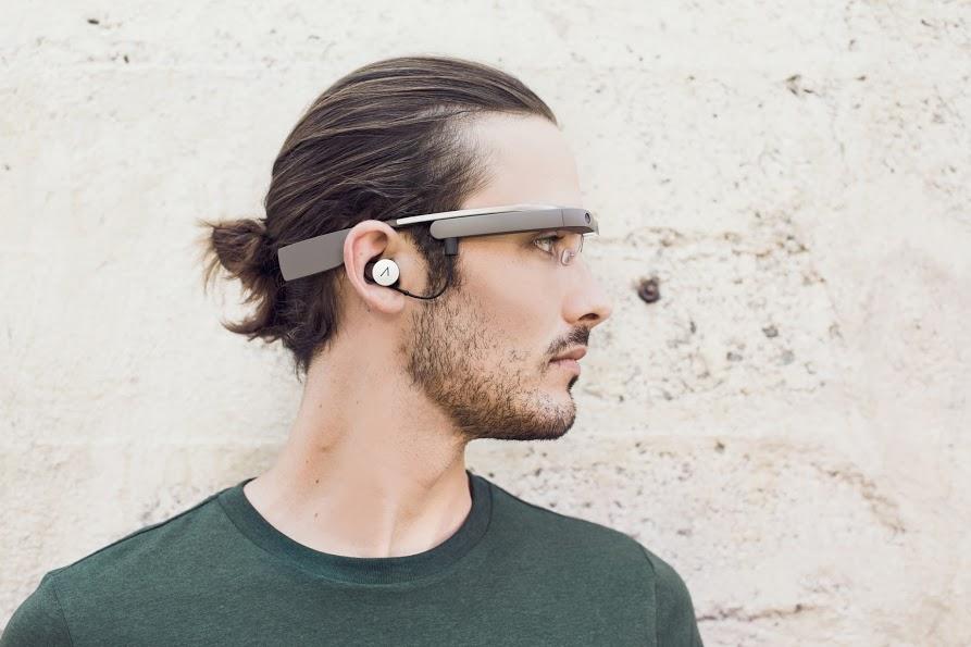 google glass novo com fone 2