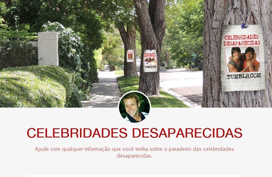 celebridades desaparecidas home