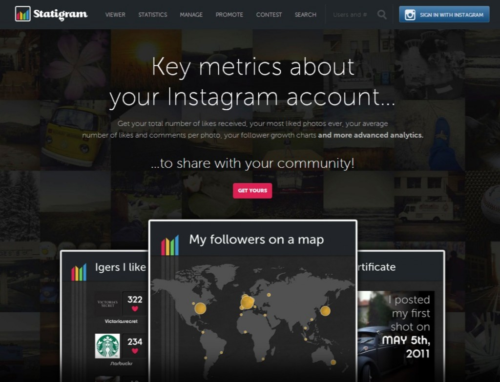 Statigram - All Instagram online