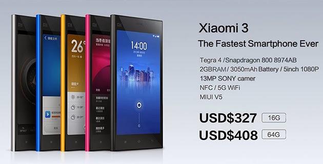 Xiaomi-Mi3 config