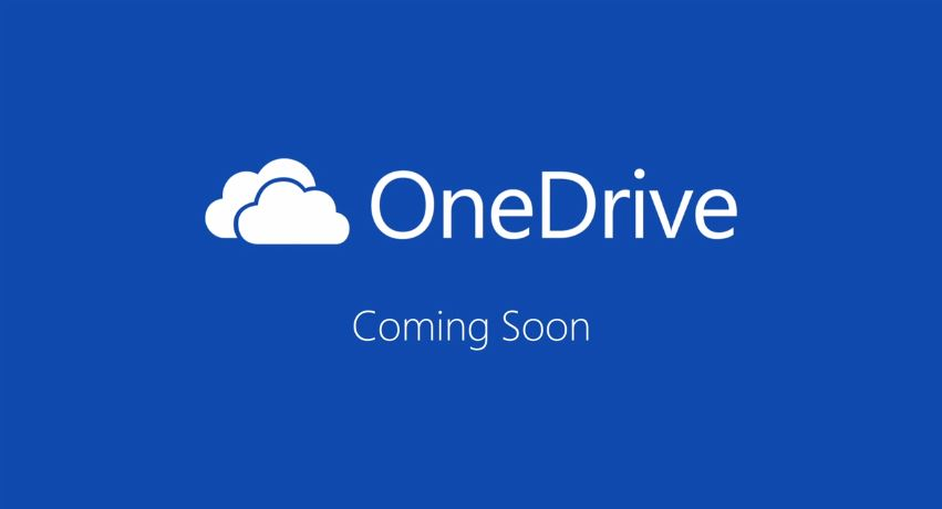 OneDrive Coming Soon