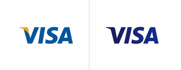 comparação antes e depois visa