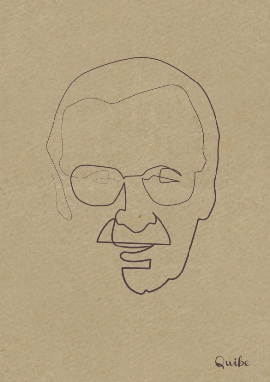 Quibe-One-Line-Stan-Lee-550x778