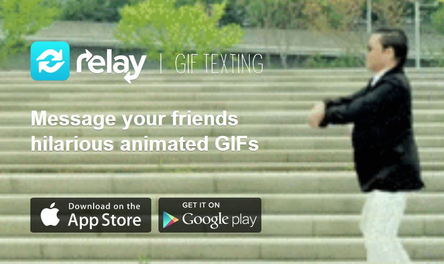 Relay GIF Texting