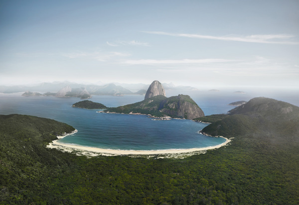 Essas fotos do Rio de Janeiro sem a intervenção do homem revelam um lugar paradisíaco