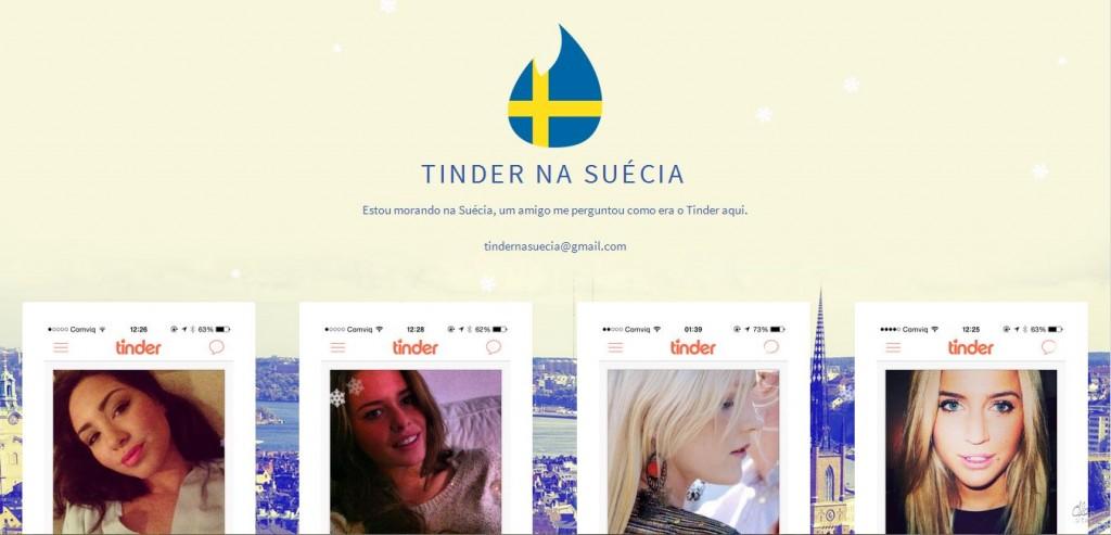 Tinder na Suécia