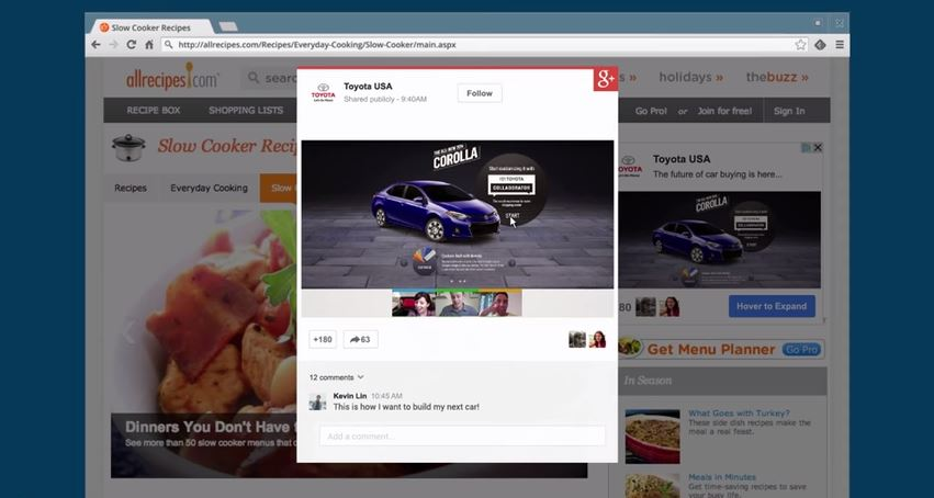 Google+ Ads