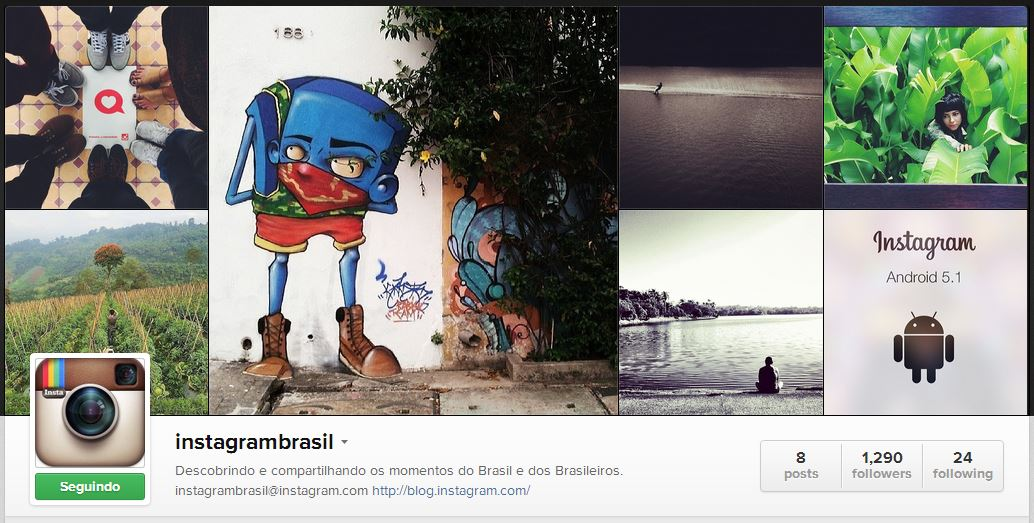 instagram brasil reprodução
