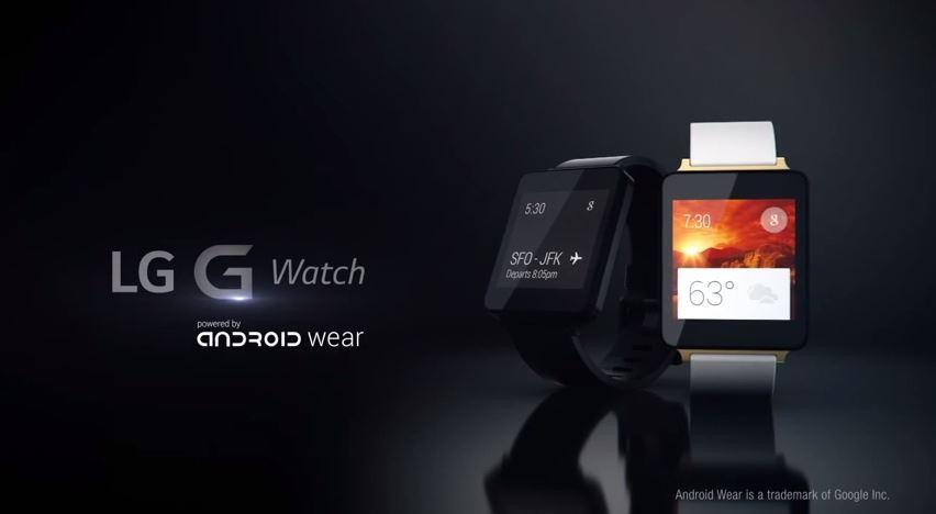 LG G Watch - video