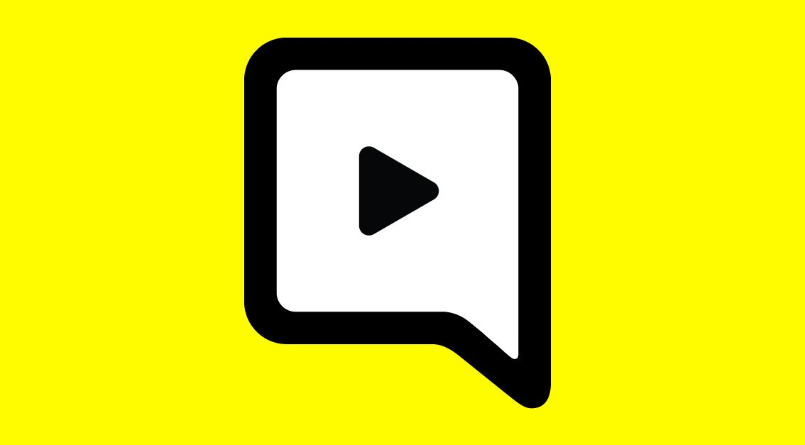 Snapchat text and video chat