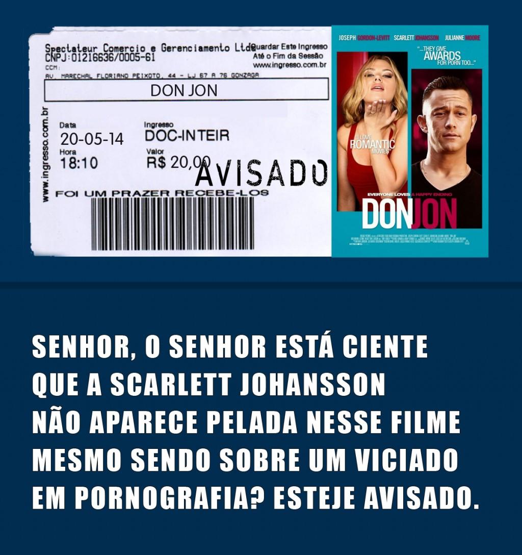 Tá Avisado Scarlett Johansson