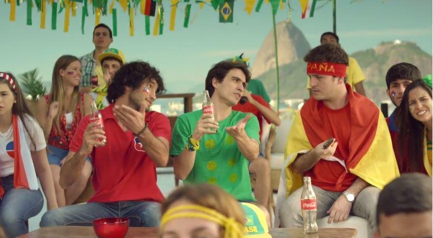 Brasil Chile Espanha Comercial Coca-Cola Destaque