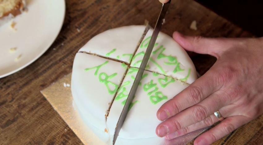 Como cortar um bolo cientificamente