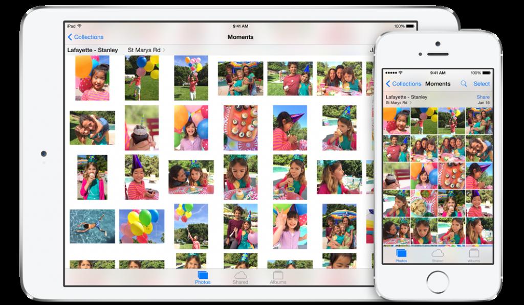 Photos iOS 8