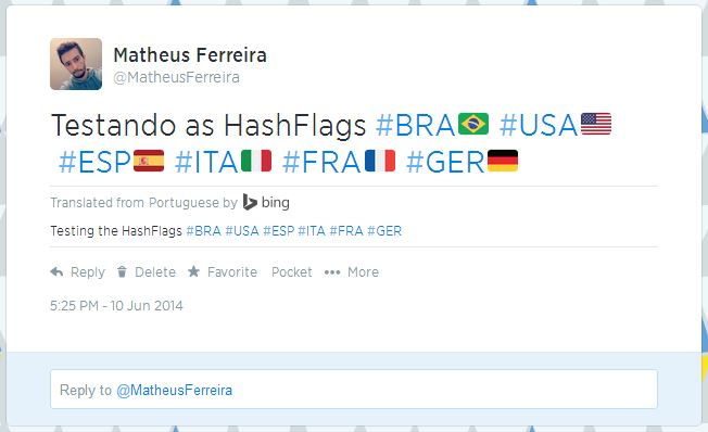 hashflags @MatheusFerreira