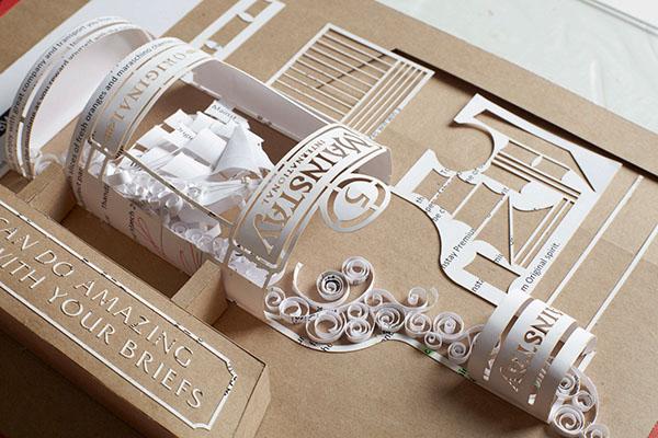 Para promover departamento de Design, agência transforma briefings em artes 3D