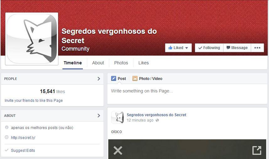 Melhores do Secret: Páginas colecionam os posts mais absurdos encontrados no app que está bombando