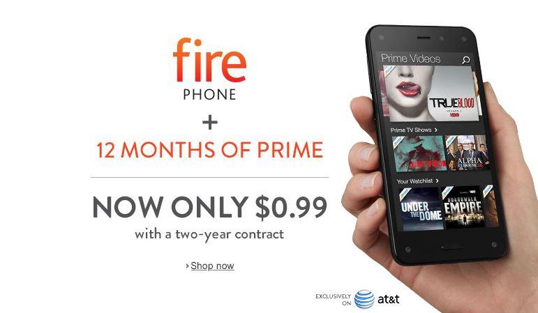 Amazon segue estratégia do Walmart e derruba preço de FirePhone para menos de 1 dólar