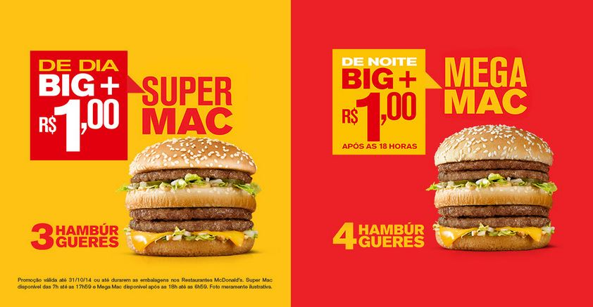 McDonald's 'pimpa' Big Mac e cria edições limitadas do lanche: Super Mac e Mega Mac