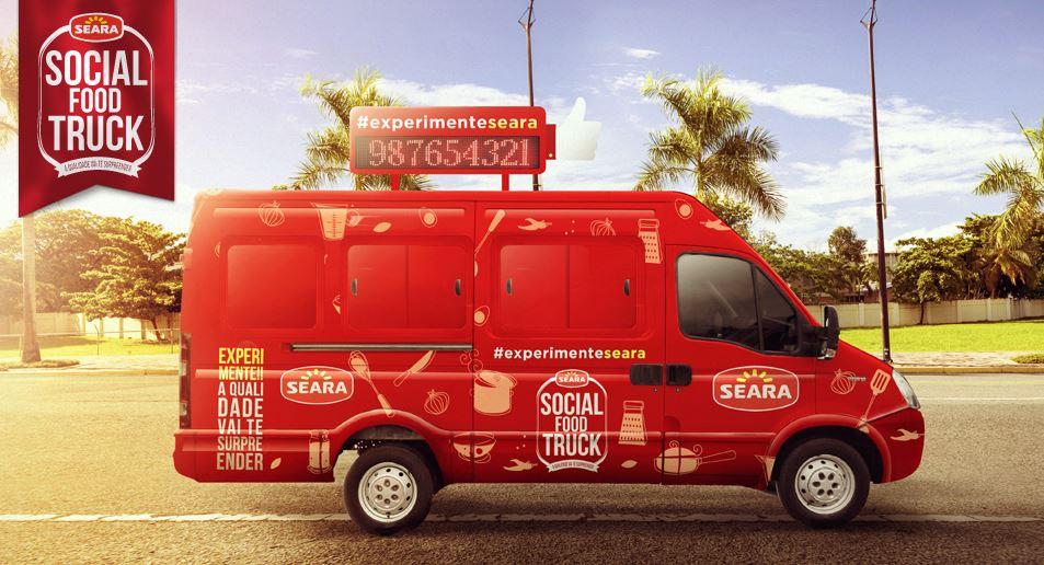 Seara adere à moda e lança Social Food Truck em SP. Seu caminhão de comida de rua
