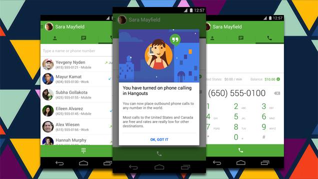 Google introduz ligações VoIP no Hangouts para Android e iOS e ameaça hegemonia do Skype