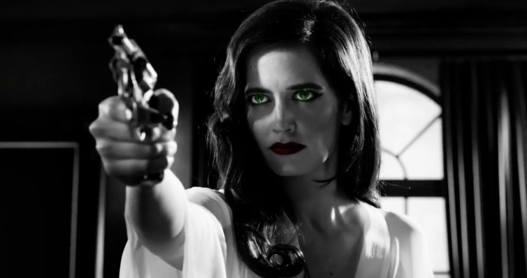 "Eva Green é, realmente, ""a dame to kill for"""