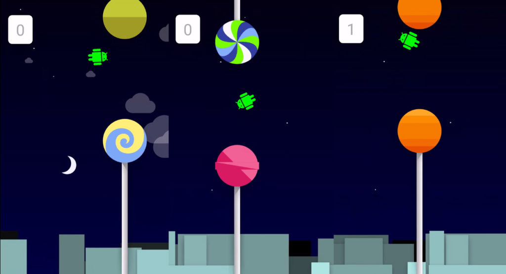 O Easter Egg do Android Lollipop é um Flappy Bird do famigerado robozinho verde