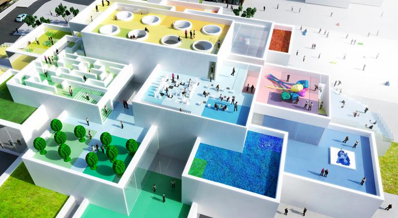 Esta casa LEGO gigante está sendo construída na Dinamarca