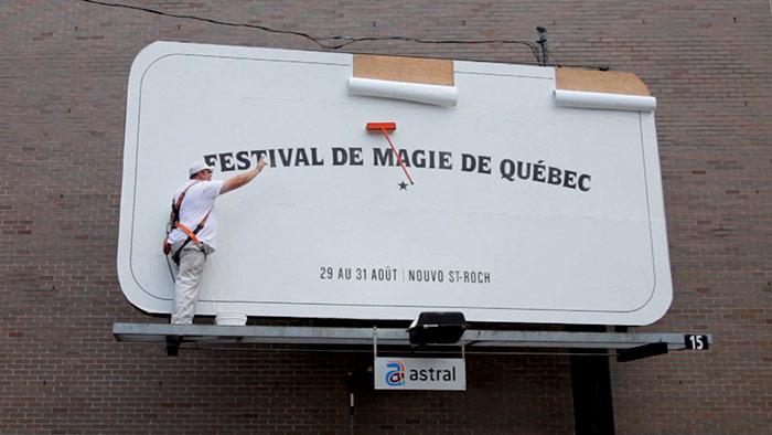 Agência cria 'Esfregão Mágico' para divulgar Festival de Magia de Quebec