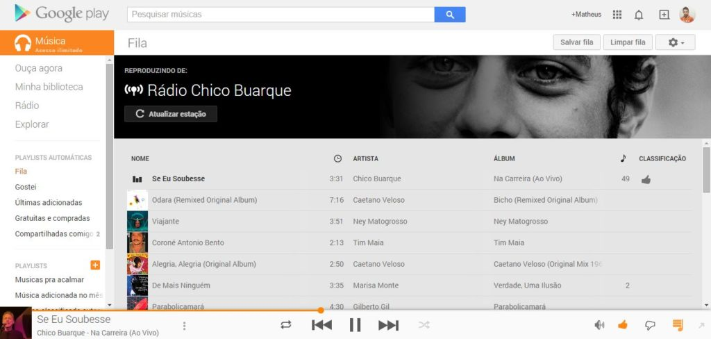 Serviço de música por streaming Play Music All Access chega finalmente para todos os dispositivos no Brasil