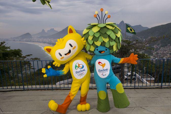 Comitê Rio 2016 revela mascotes dos Jogos Olímpicos e Paralímpicos no Rio