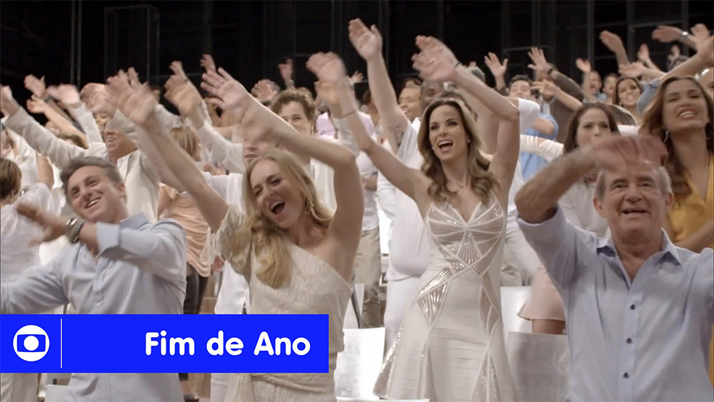 TV Globo divulga Vídeo de Final de Ano 2014 no YouTube