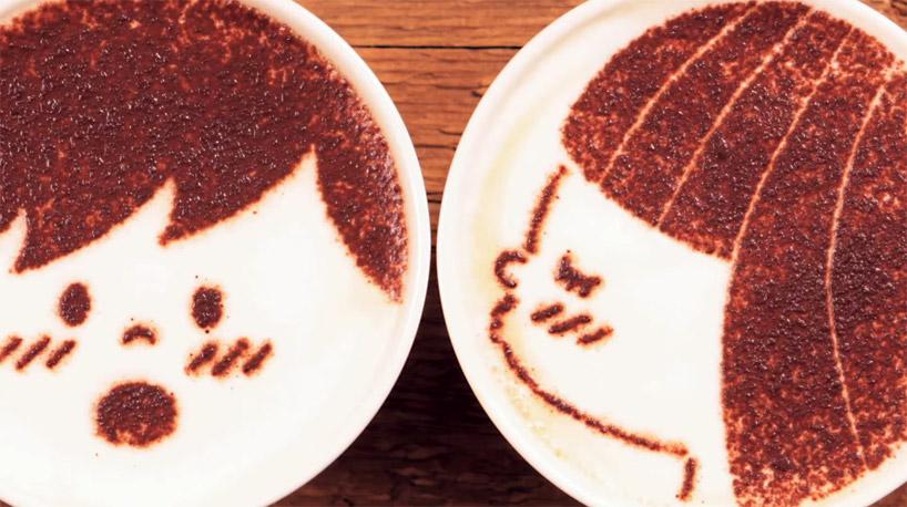 Marca japonesa cria animação com cerca de 1000 desenhos em cafés