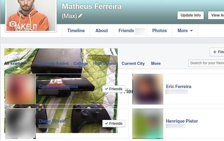 O curioso caso da foto de um Xbox na página de amigos do Facebook