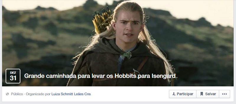 Grande-caminhada-para-levar-os-Hobbits-para-Isengard-eventos-criativos-facebook
