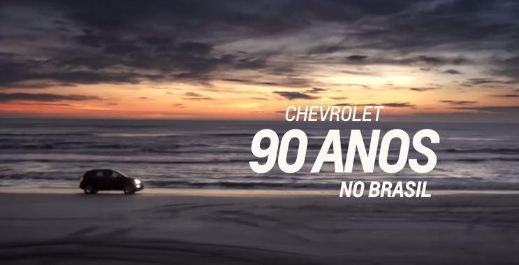 Chevrolet aposta na emoção para comemorar seus 90 anos no Brasil