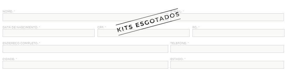 200 packs personalizadas foram disponibilizadas aos consumidores