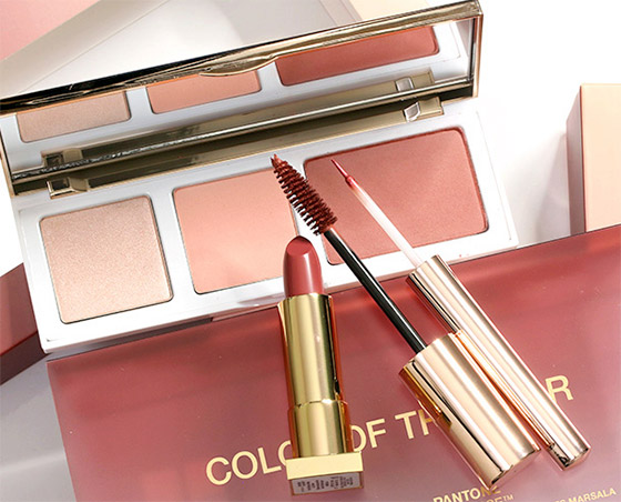 Pantone e Sephora lançam maquiagens inspiradas na Marsala, a cor de 2015