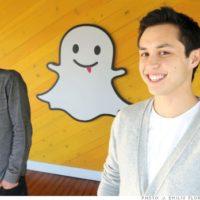 Criadores do Snapchat são eleitos bilionários mais jovens do mundo