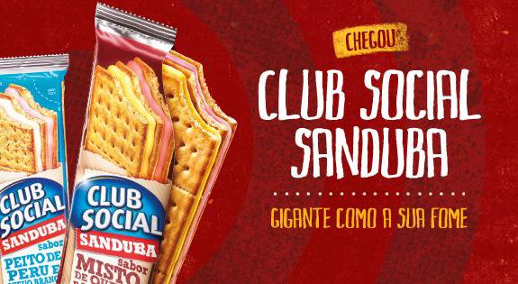 """Club Social lança edição """"Sanduba"""" com 3 biscoitos e 2 recheios"""