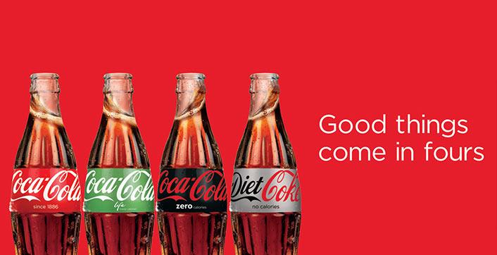 Coca-Cola unifica embalagens no Reino Unido