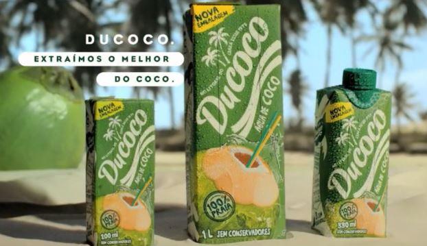 Ducoco estreia na TV e promove água de coco com humor e simplicidade