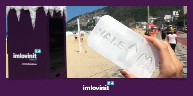 #ImLovinIt: McDonald's distribui cupons de gelo para serem trocados antes de derreterem