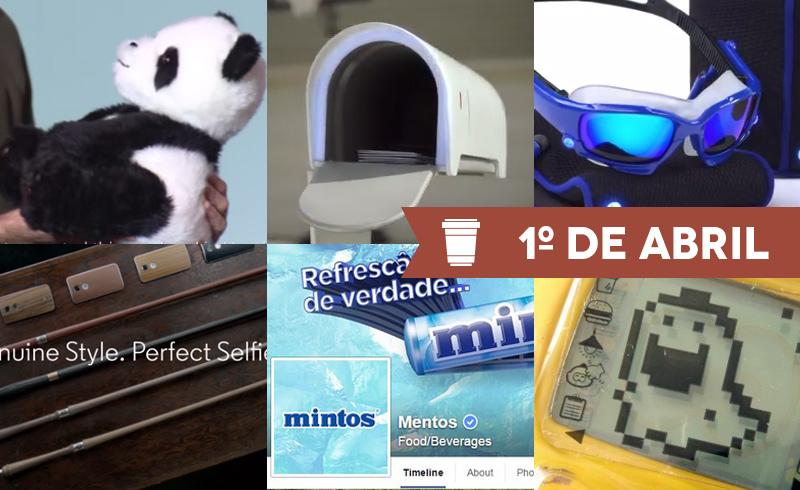 As invenções mais criativas das marcas para o dia 1º de abril até agora