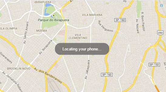 Você poderá encontrar seu Smartphone Android pesquisando por ele no Google